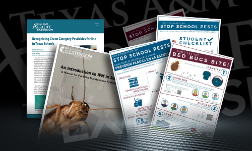 Front covers of new AgriLife Extension Service publications