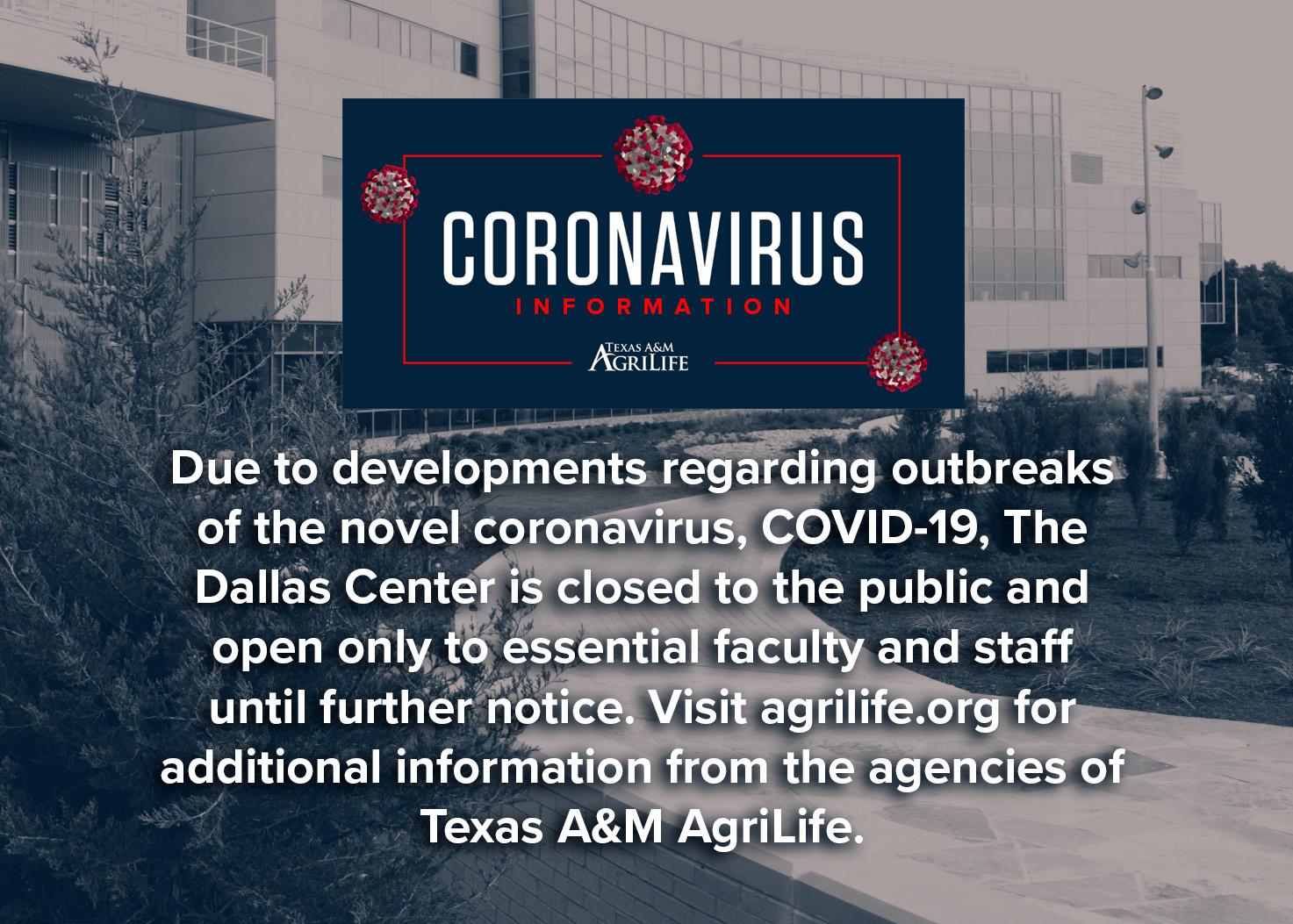 Texas A M Agrilife Dallas Center